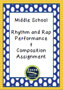 Rhythm and Rap Assignment