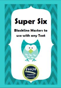 Super Six Blackline Masters Staff Resource Book