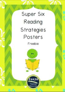 Super Six Freebie Posters Set 1