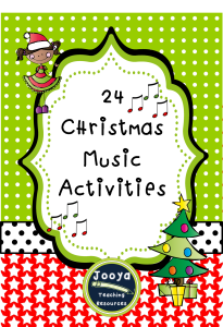 24 Christmas Music Activities