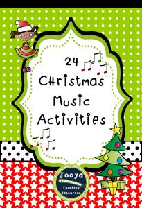24 Christmas Music Activities
