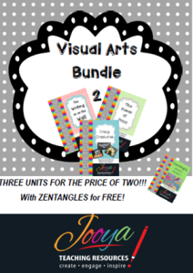 Visual Arts Bundle 2 with Super Six Reading Strategies